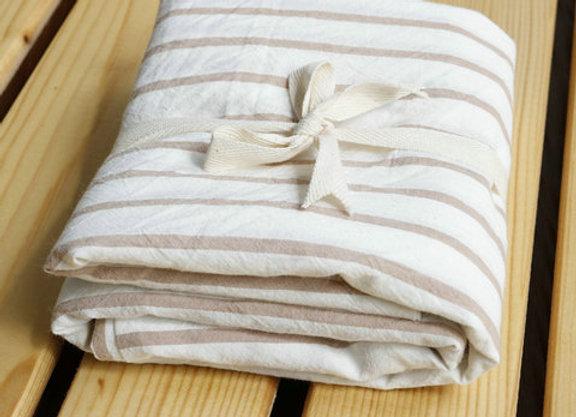 Set Funda de almohadas - líneas neutras