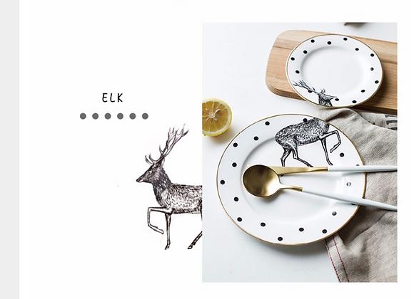 Set Alce platos Colección Lux