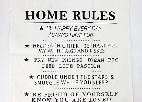 Paño Cocina Home Rules