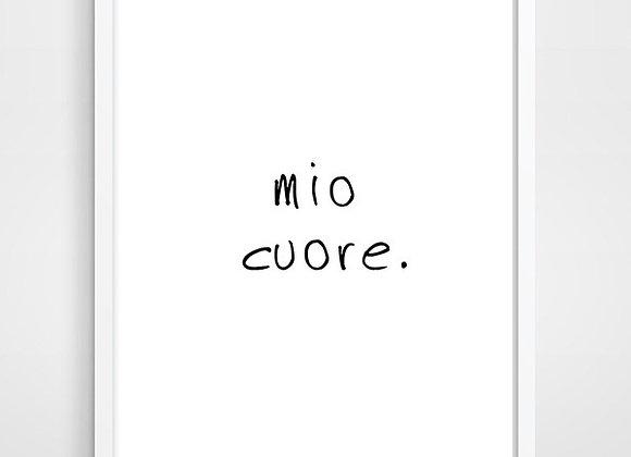 """Wall Decor """"Mio Cuore"""""""