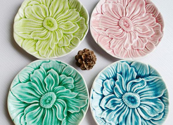 Plato de cerámica Flor de Loto