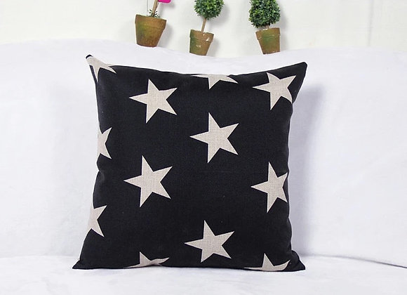 Cojín Negro Alot Stars