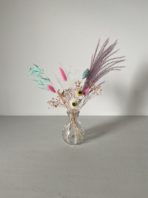 Bright Dried Flower Posy
