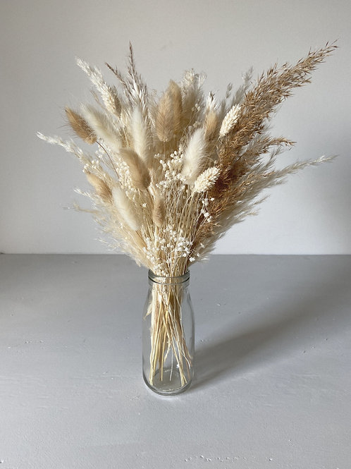Brown and Cream Pampas Baby Bunch