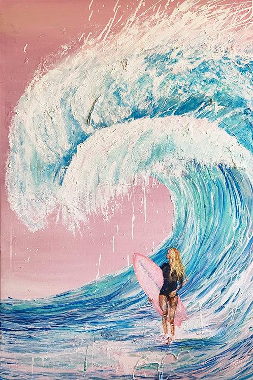 Dreamy Surfer girl