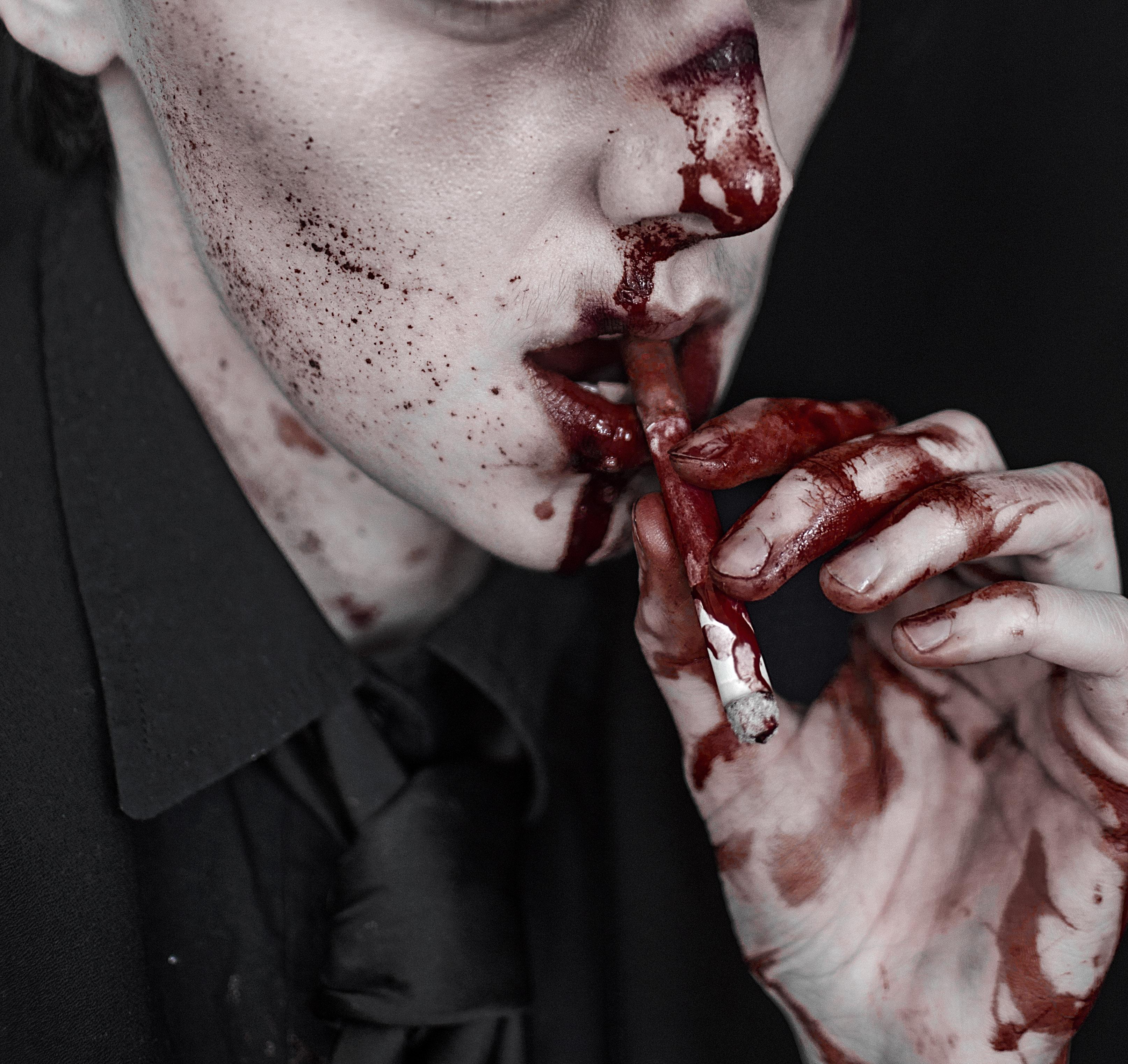Кровавые картинки для пацанов на аву