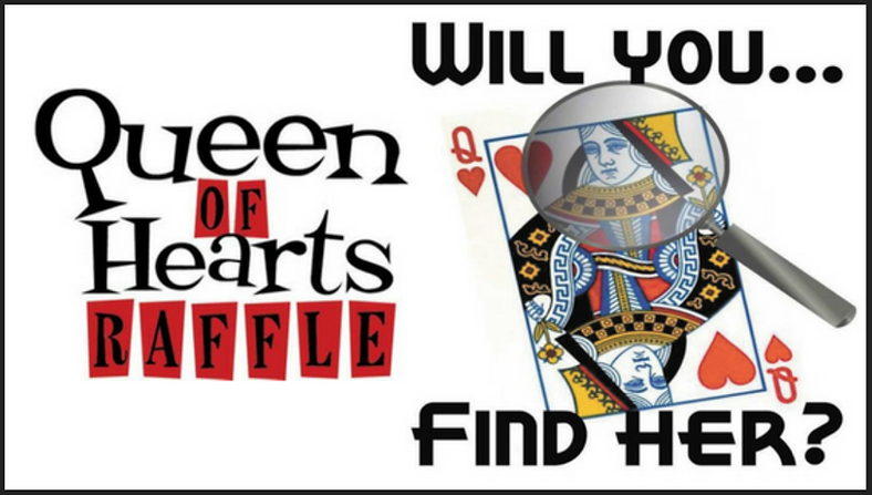 Queen of Hearts Raffle - At The Office S