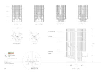 Construction detail drawing