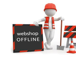 Webshop offline