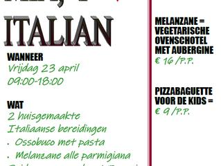 Themagerecht: Mama mia, I 🧡 Italian