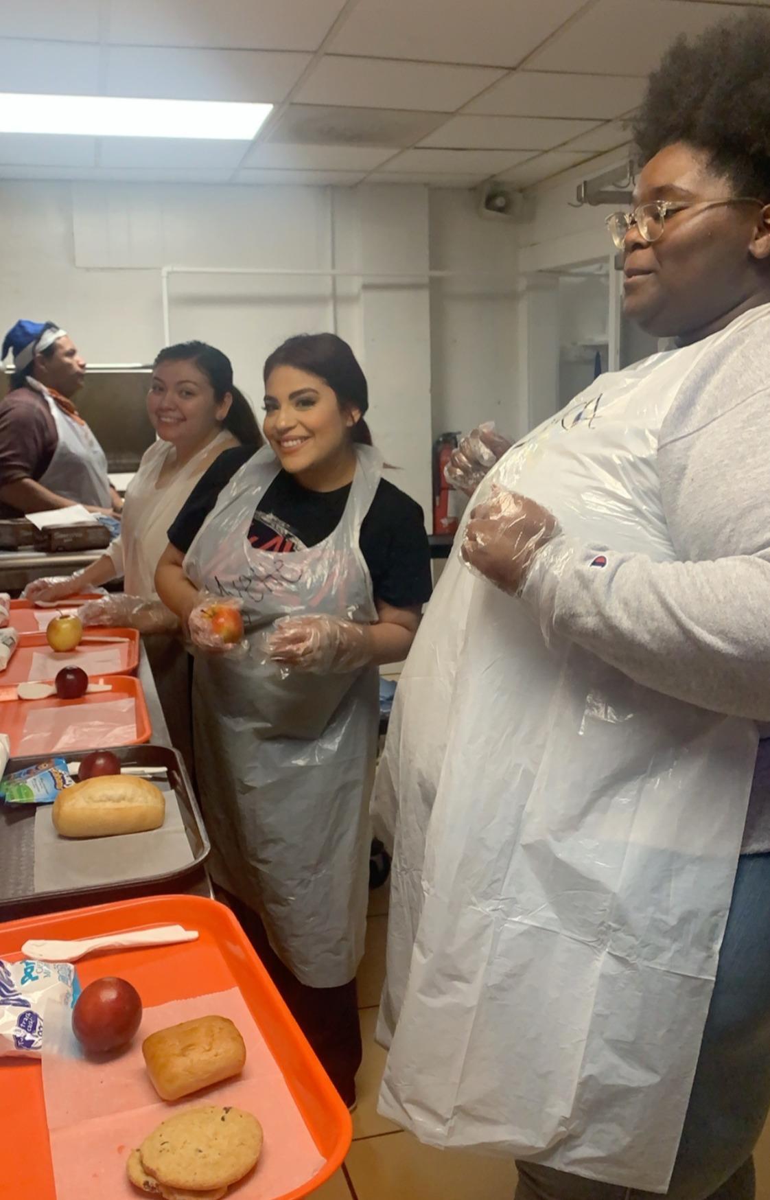 RQFEOC volunteers at Angel House Soup Ki