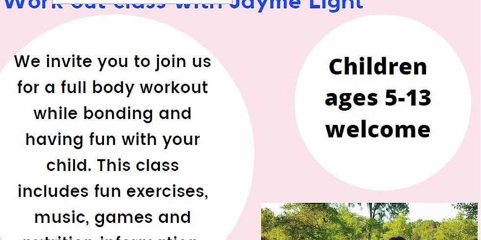 Mommy and me workout with Jayme light
