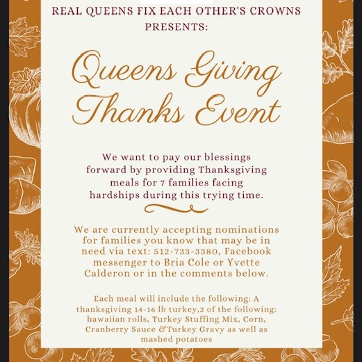 Queens Giving Event