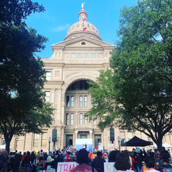 RQFEOC attends ATX women's march