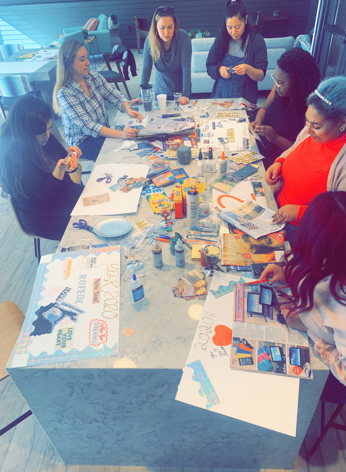 RQFEOC 2020 VISION BOARD PARTY