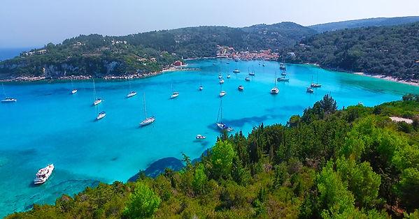 Paxos Island Cruise from Corfu