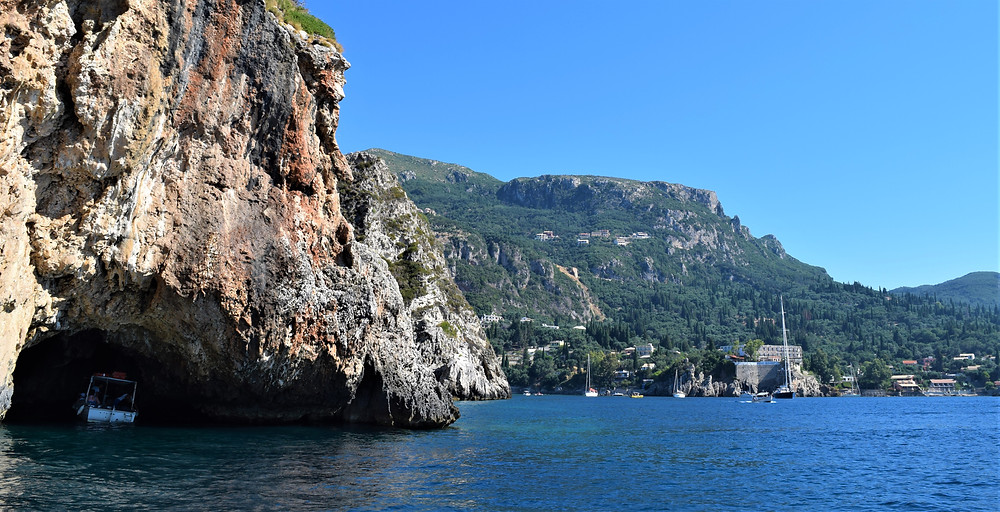 Paleokastritsa Corfu Holidays boat tour Paradise Beach