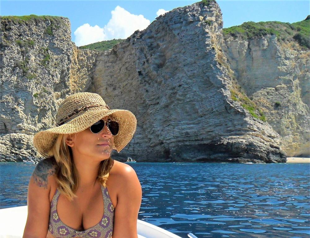 Stelari beach Paleokastritsa Paradise Beach Corfu Holidays