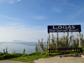 Logas: the Sunset Beach at Peroulades