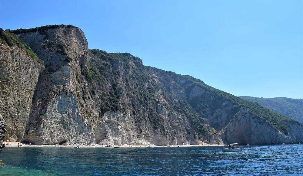 Corfu Liapades Paradise Beach Holidays boat tour