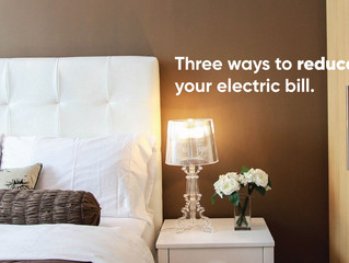 Three Ways To Lower Your Electric Bill