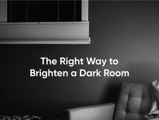 "A Common Mistake When Trying to ""Brighten"" A Dark Room"