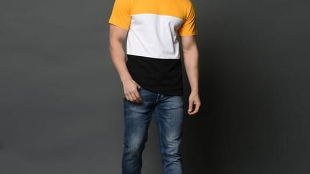Fashionable Trendy Cotton Men's T-shirt