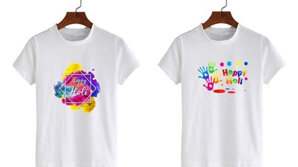 Art Attack Designs Printed Tshirts (Pack of 2)