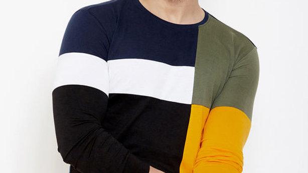 GESPO Color Block  T-Shirt