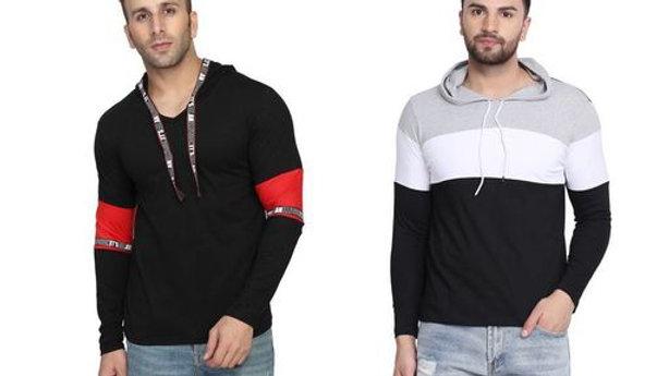 Divine Stylish Men's Tshirts Combo