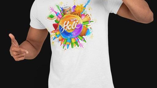 Holi Special Unisex T- Shirt