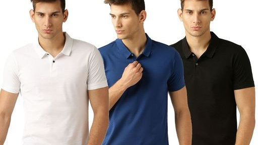 Comfy Men's Trendy Cotton T-Shirts (Pack Of 3)