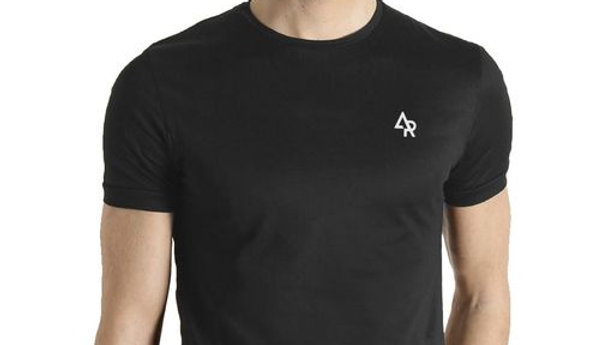 Men's Cotton Brand Logo Printed T-Shirt