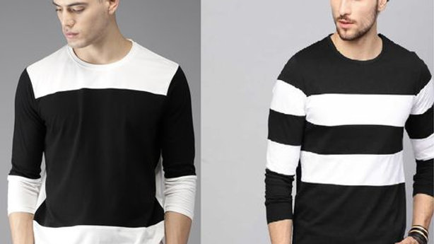 Axxitude COMBO Premium Cotton T-shirt for Men