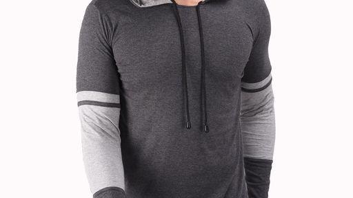 Cotton Stylish Hooded Tshirt