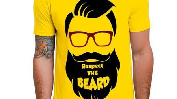 Men's Polyester Printed Tshirts