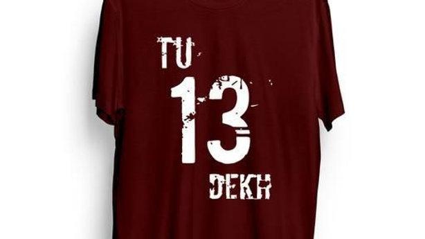 Attratcive  Men's Printed T-Shirt