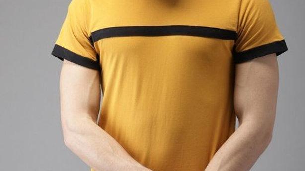 Fancy Men's Stylish Cotton T-Shirt