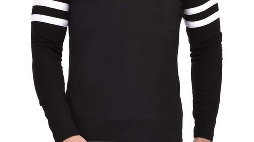 Men's Stylish Cotton Hooded T-Shirt