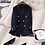 Thumbnail: Korea Blazer Women Double Breasted Navy Blazers