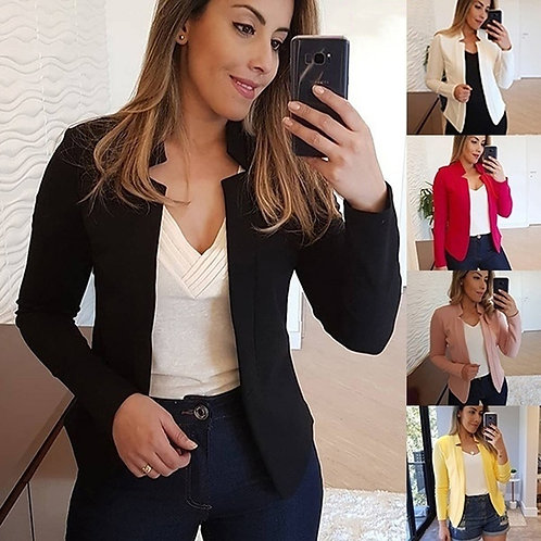 Multiple Colour Women Blazer 2020 Leisure Blazers
