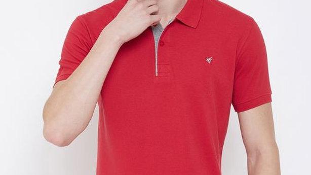 NEVA Double Pique Polo T-Shirt