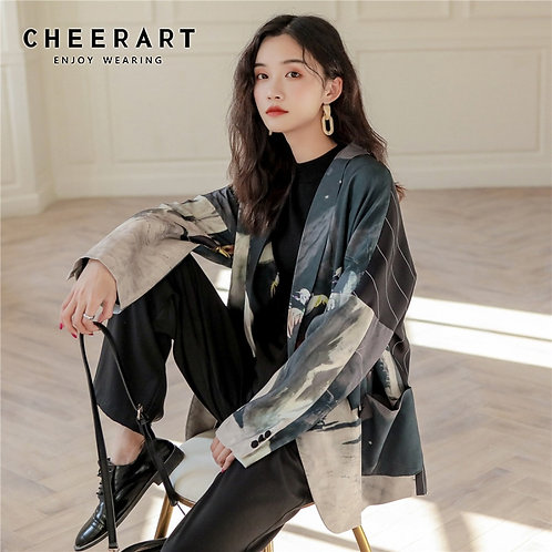 CHEERART Designer Women Blazers