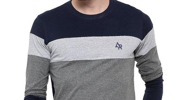 Adro Men's Full Sleeve Cotton T-Shirt