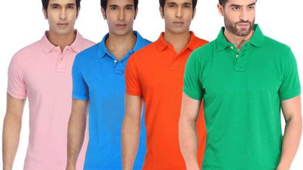 Attractive Combo of Men's Polycotton Tshirt