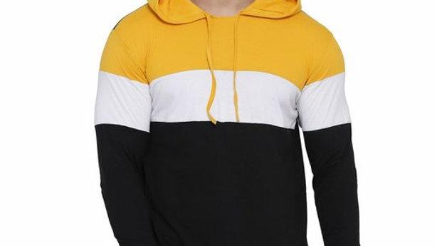Cool Cotton Blend Hodded Tshirt