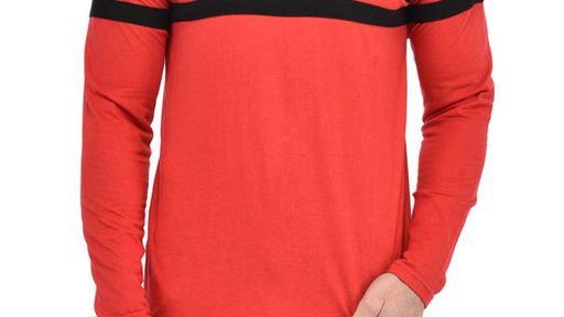 Men's Stylish Cotton Hooded T-Shirt