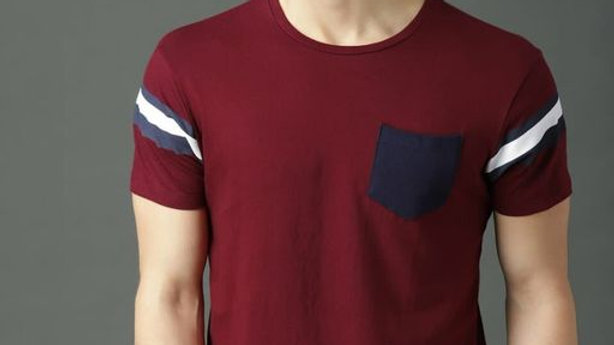 Casual Trendy Cotton Men's T-Shirt