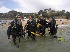 PADI buceo Barcelona submarinismo bautizo discover scuba diving
