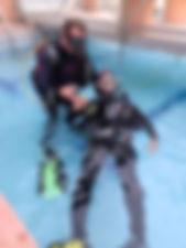 PADI buceo Barcelona submarinismo dive scuba diving bautizo discover